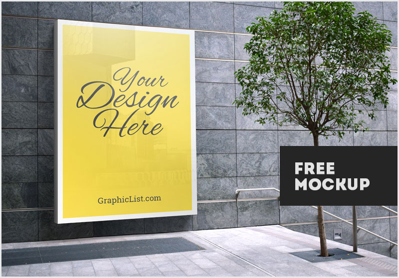 50 Free Outdoor Advertisement Mockups of Billboard, Sign-board