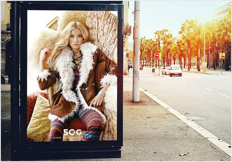 Free-Outdoor-Bus-Stop-Billboard-Mockup-For-Advertisement