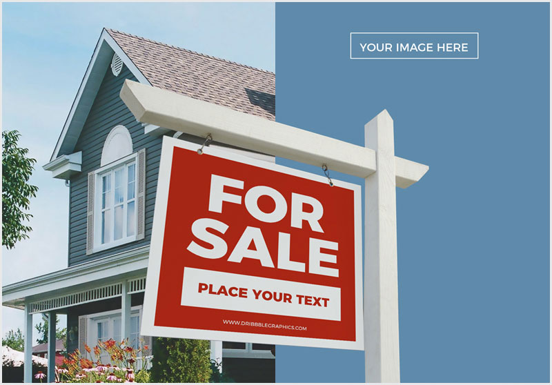 Free-Real-Estate-Signboard-Mockup