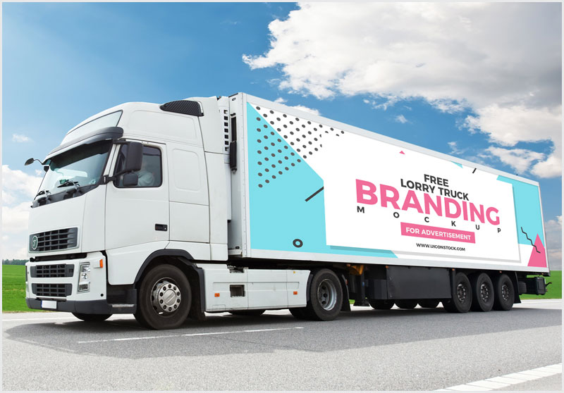 Free-Truck-Branding-Mockup-For-Advertisement