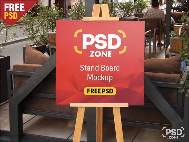 Outdoor-Restaurant-Menu-Stand-Board-Mockup