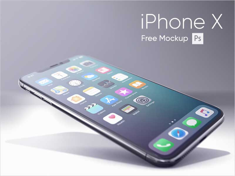 iPhone-X-Realistic-Mockup