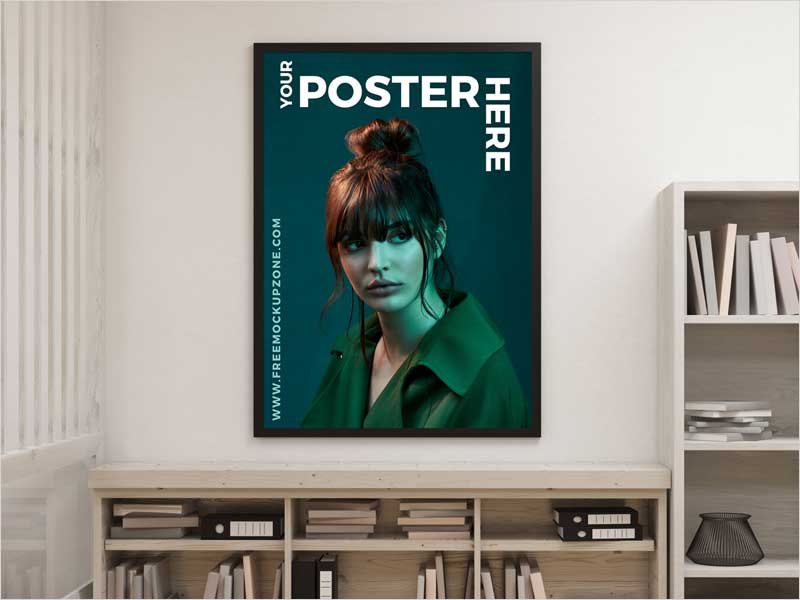 Free-Creative-Interior-Poster-Mockup-For-Designers-2018