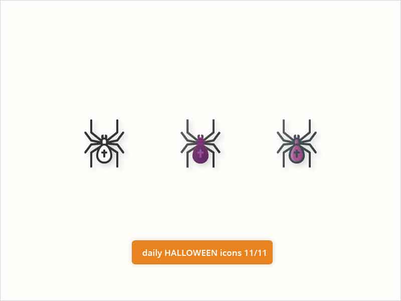 Daily-Halloween-Icons