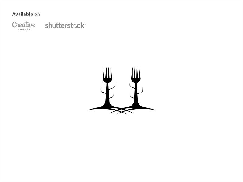 Food-forest-logo-design