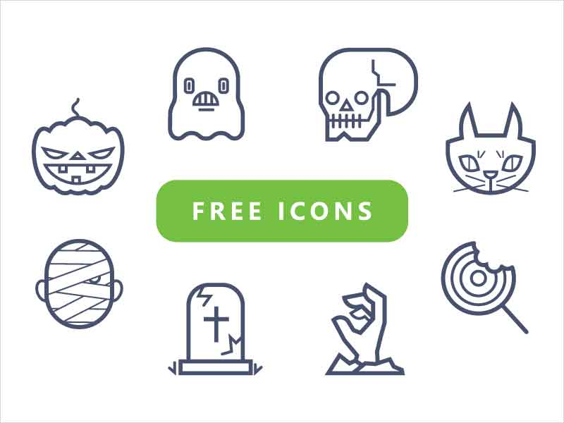 Free-Halloween-Icon-Pack