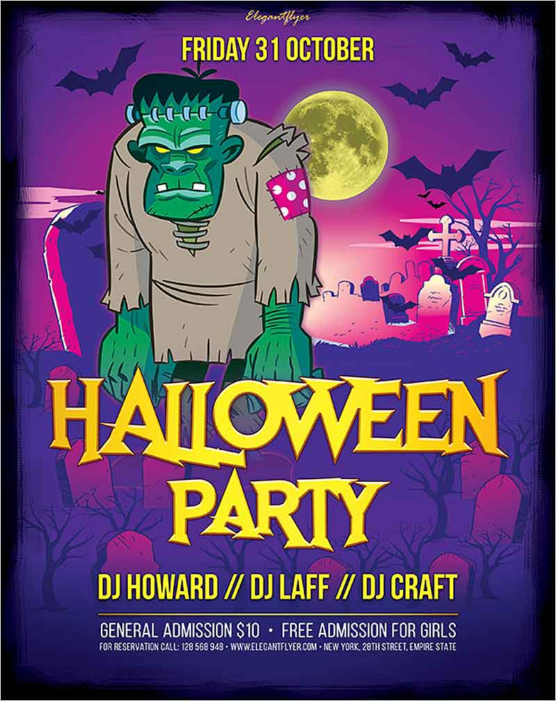 Free-Halloween-Party-Flyer-Template-PSD