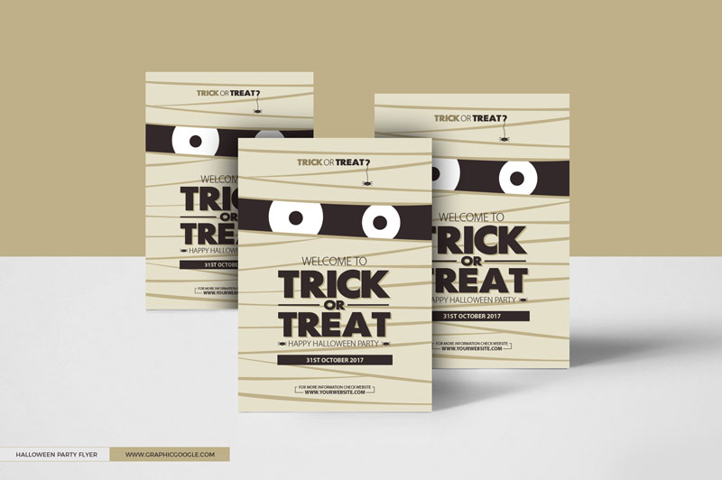 Free-Halloween-Trick-or-Treat-Party-Flyer-Design-Template