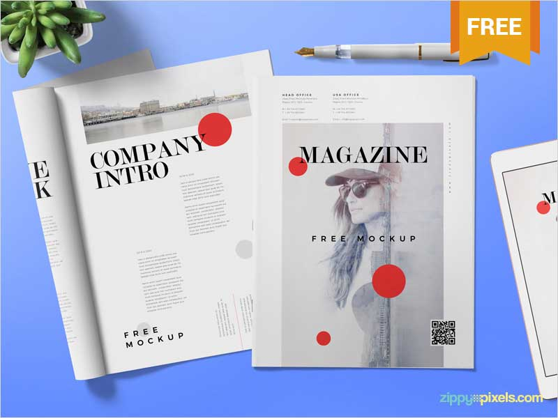 Free-Magazine-Ad-Mock-Up