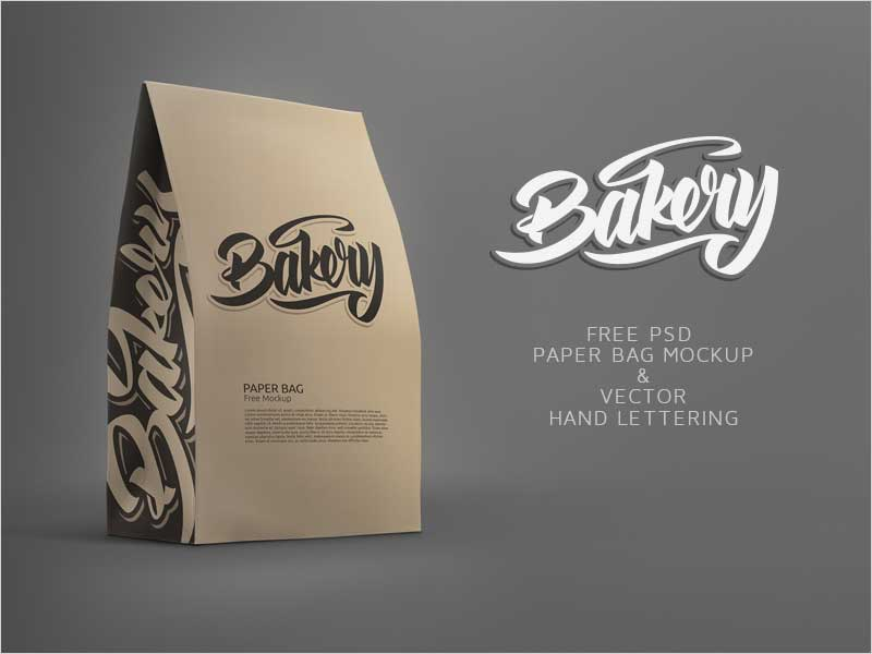 Free-Paper-Bag-Mockup-and-Free-Bakery-Lettering