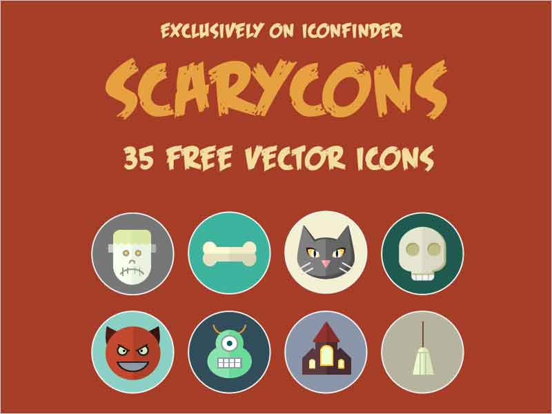 Free-halloween-color-icons
