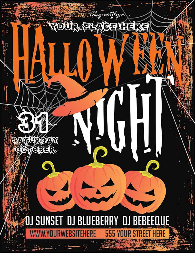 Halloween-–-Free-Flyer-PSD-Template