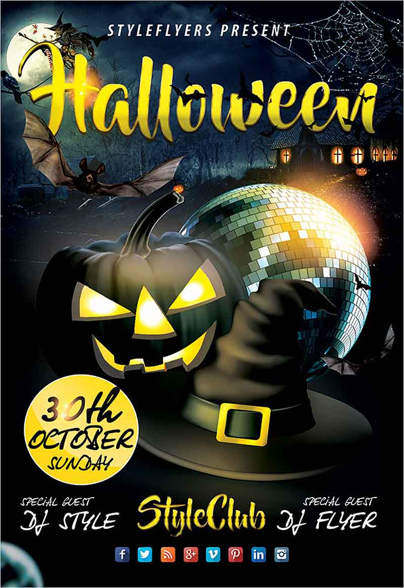 Halloween-FREE-PSD-Flyer-Template