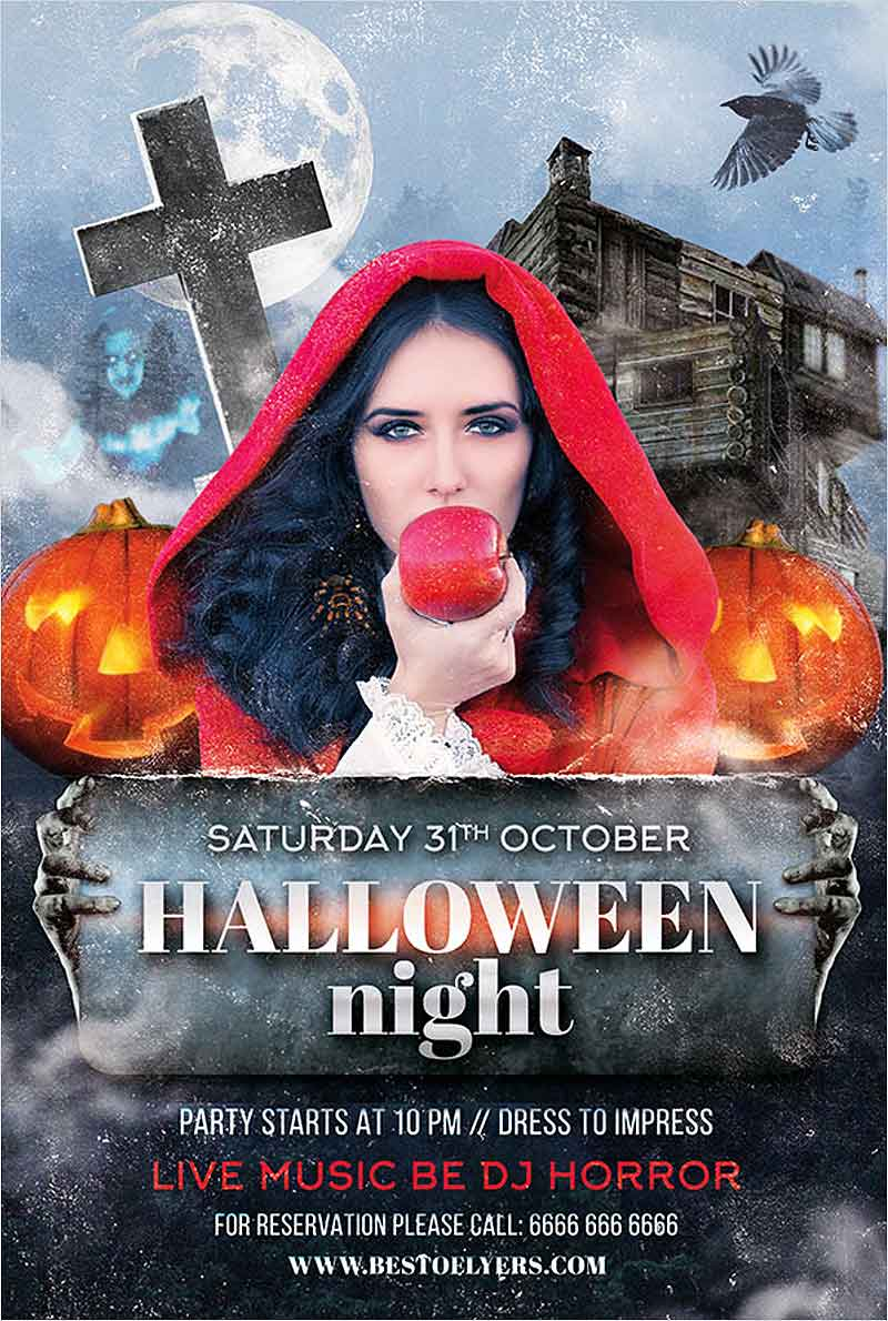 Halloween-Party-Night-Free-Flyer-Template