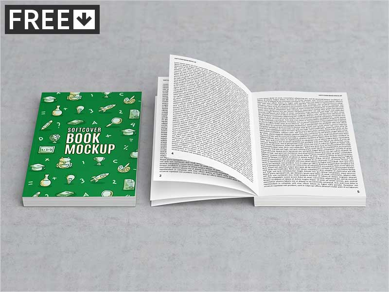 Softcover-Book-Mock-Up
