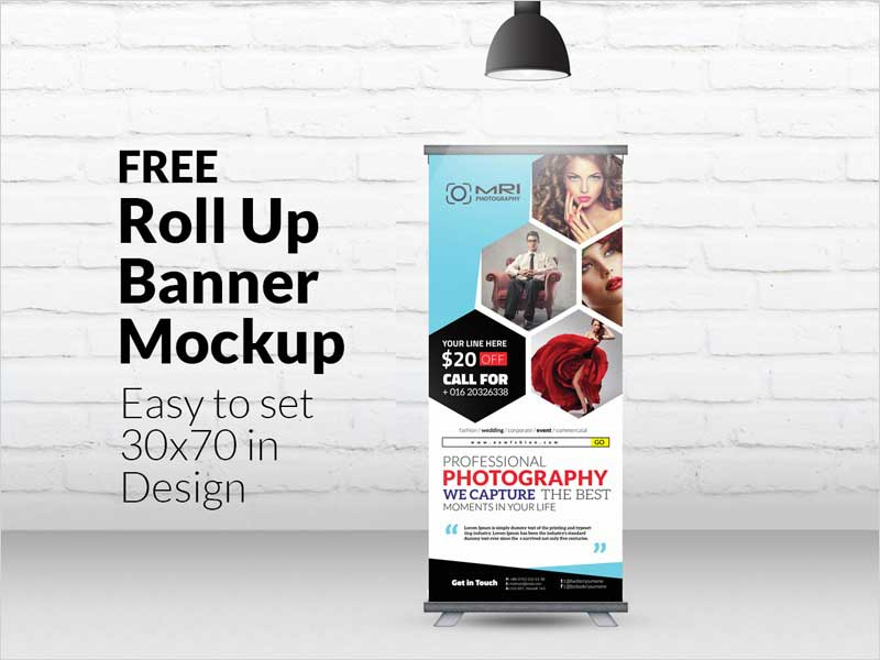 Mock Up Exhibition Stand Psd Free Download : Best free roll up outdoor bus shelter and banners