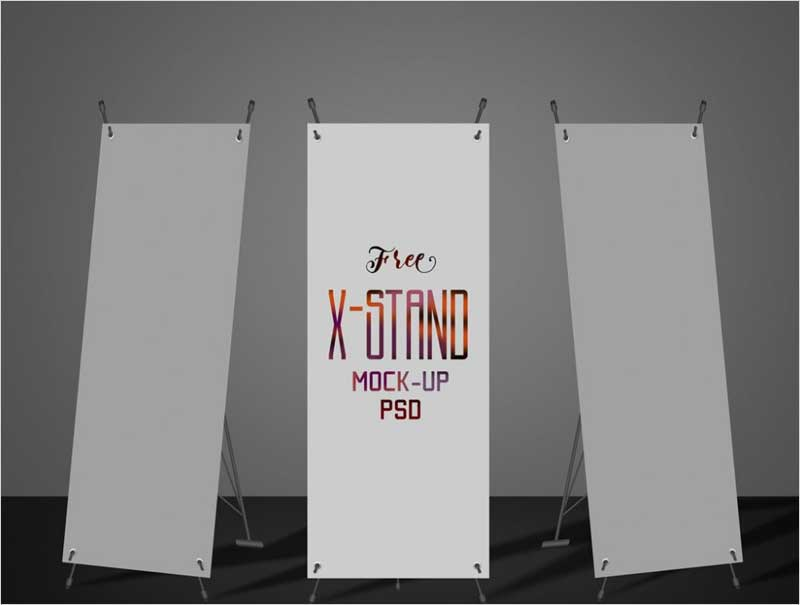 X-Stand-Banner-Mockup