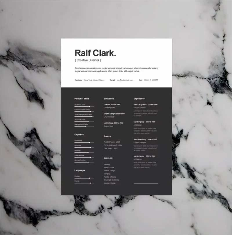 BW-Resume-Template