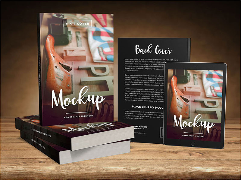 Big-6-x-9-Book-Promo-Mockup-with-Tablet