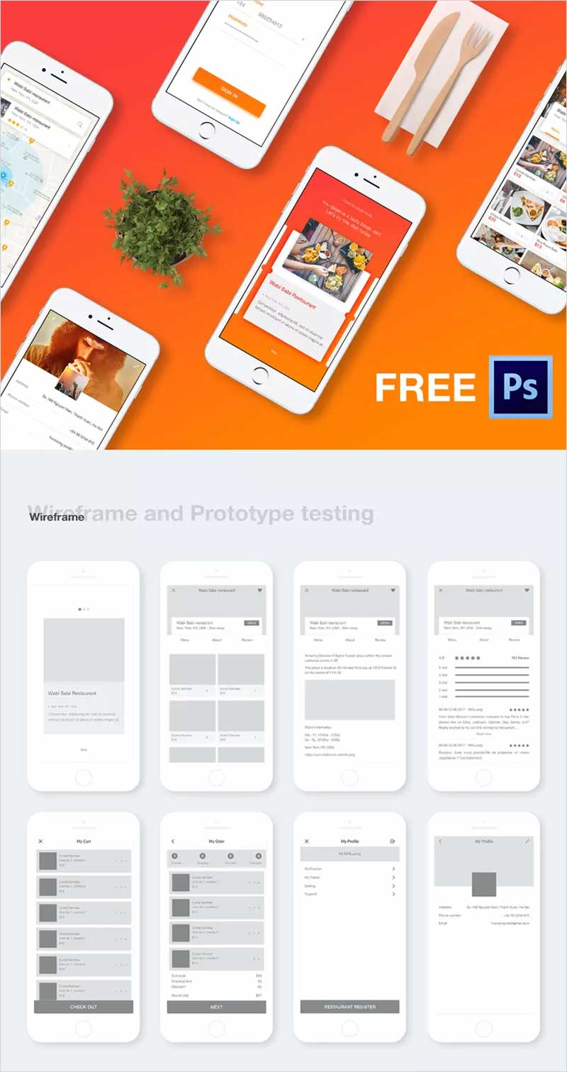 COOK-Mobile-App-PSD-Template