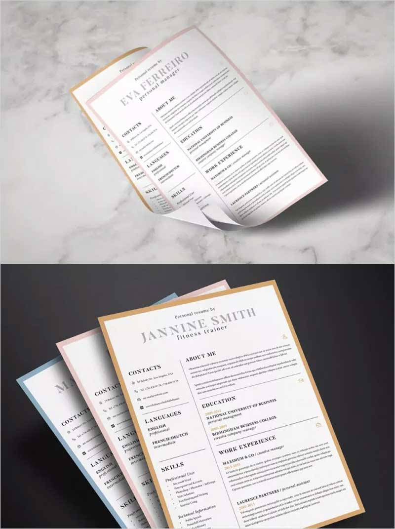 Clean-Resume-Template1