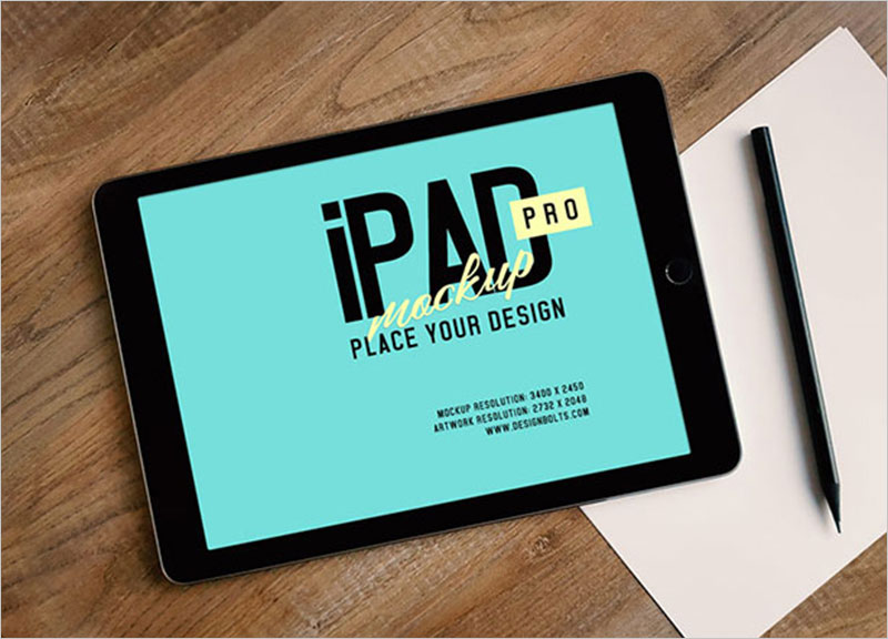 Free-Apple-iPad-Pro-Photo-Mockup-PSD