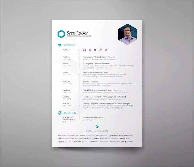 Free-Resume-Template5