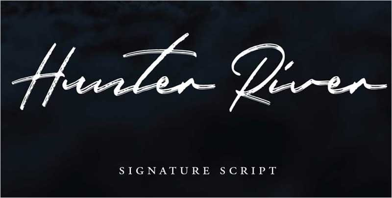 Hunter-River-Signature-Script-Typeface