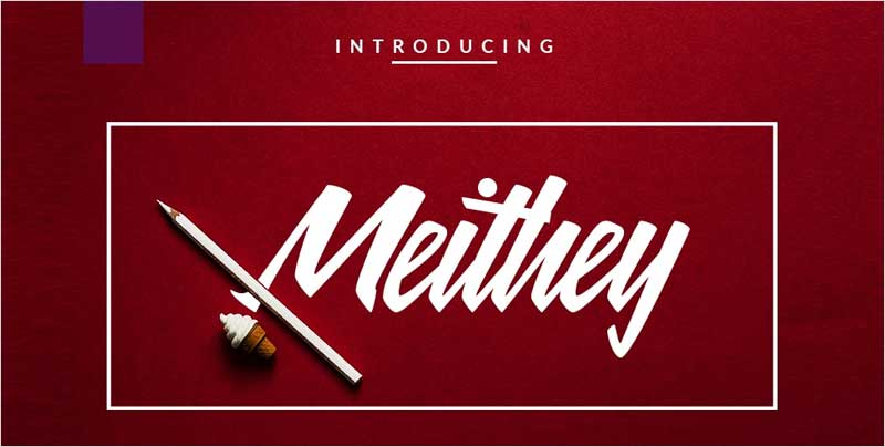 Meithey-Bold-Script-Font
