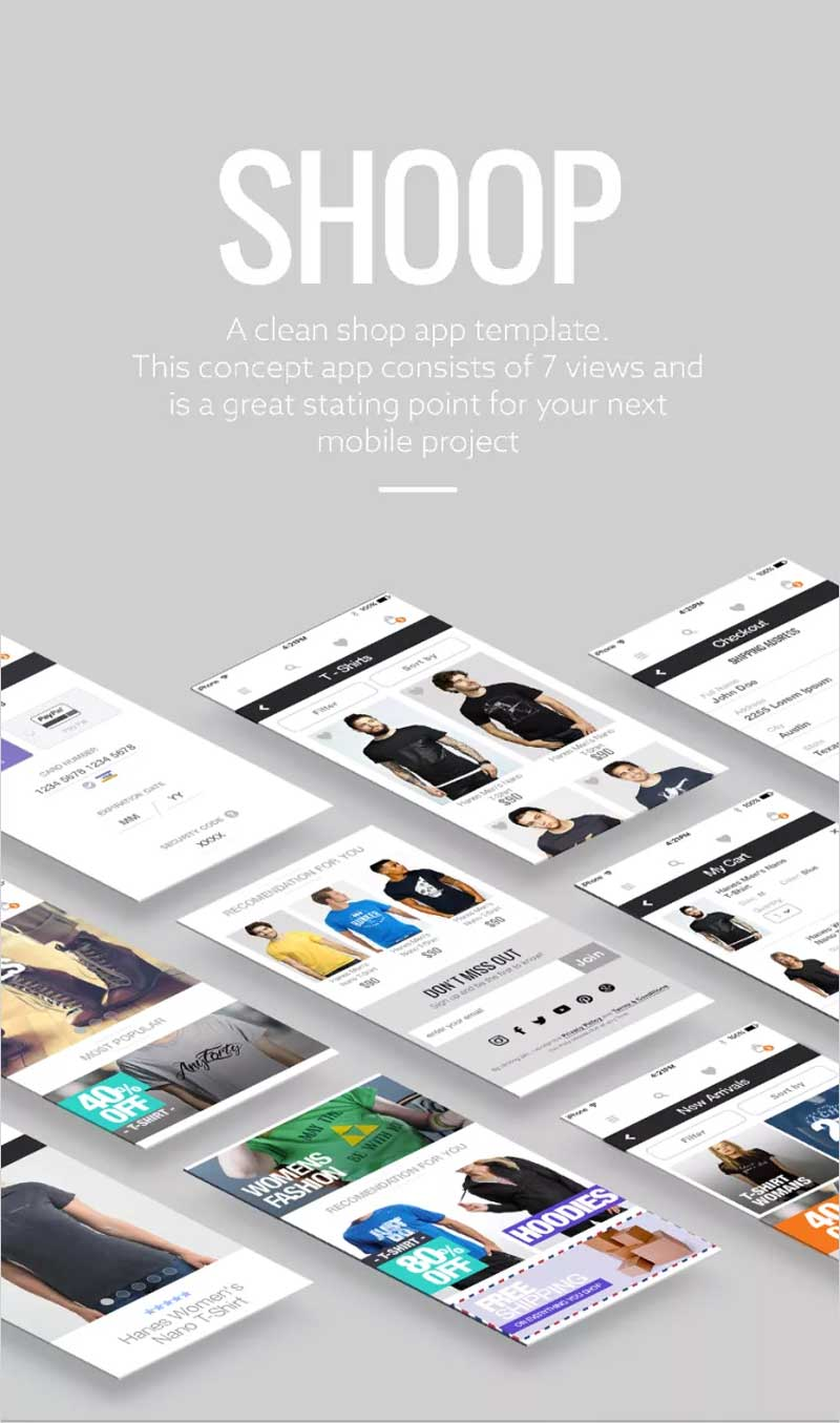 Shoop-Ecommerce-Free-UI-Kit