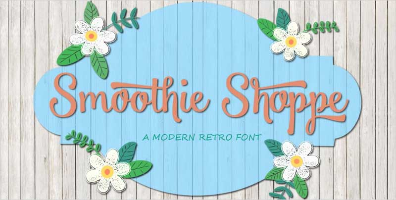 Smoothie-Shoppe-Typeface