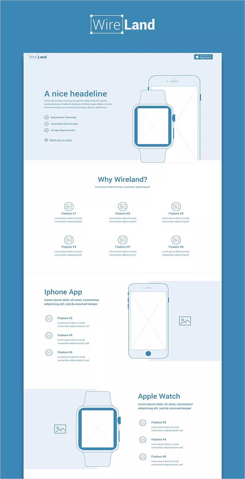 Wireland-Sketch-Template