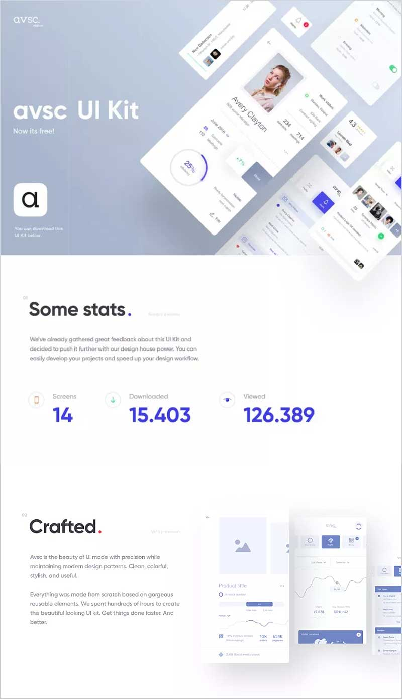 avsc-Free-Sketch-UI-Kit-Design