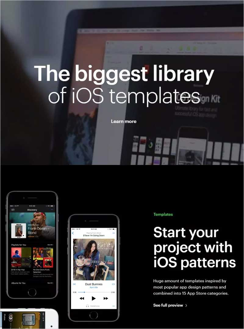 iOS-Design-Kit-Free-Demo
