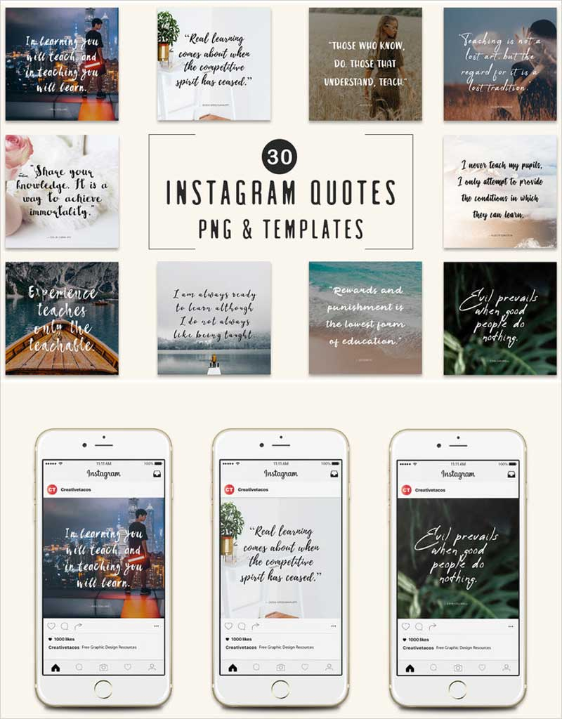 30-Free-Instagram-Quotes-Templates
