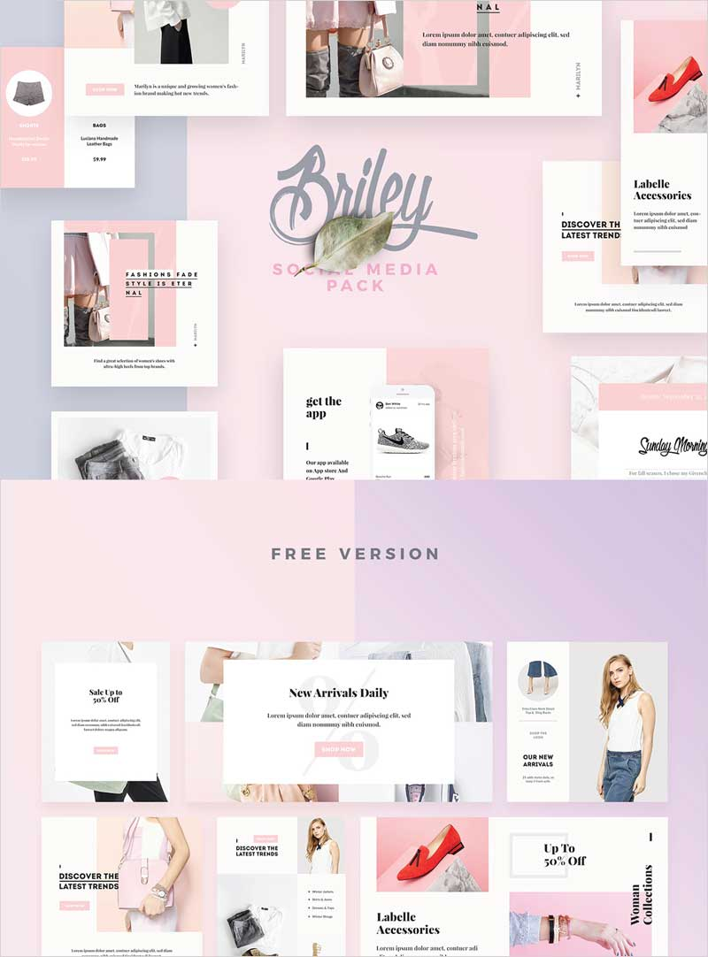 Briley-Social-Media-Pack