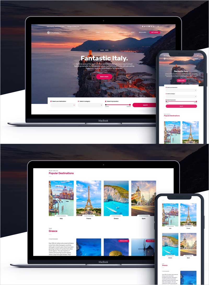 Cousteau-Pro-Travel-WordPress-theme