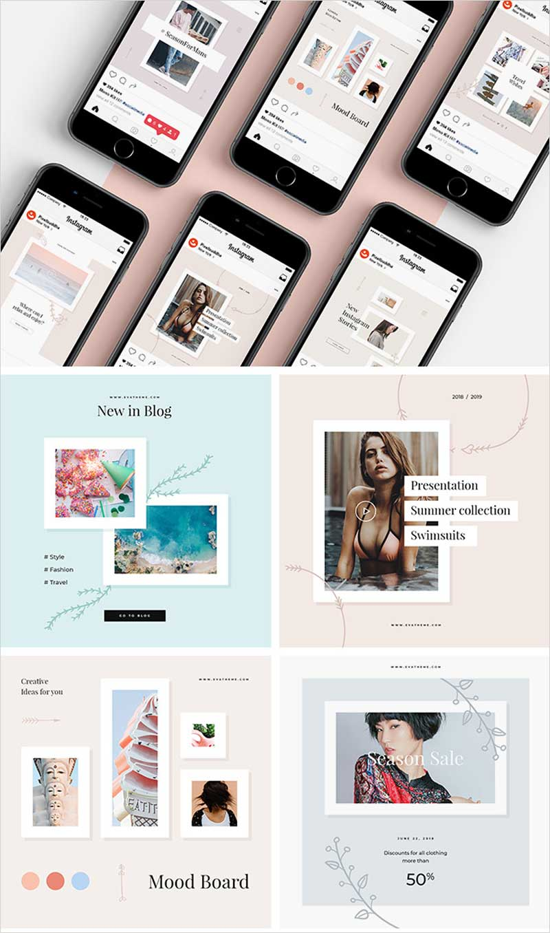 Elly-Instagram-Templates-Set