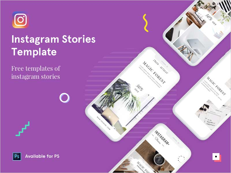Free-Instagram-Stories---PSD-Template