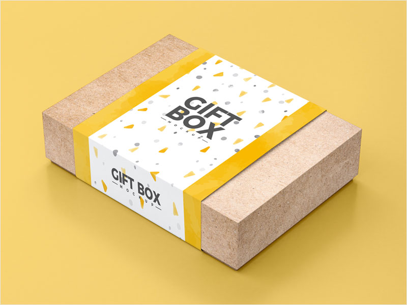 Free-PSD-Craft-Paper-Gift-Box-Mockup