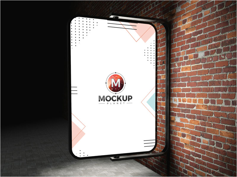 Free-Street-Advertising-Billboard-Mockup-PSD