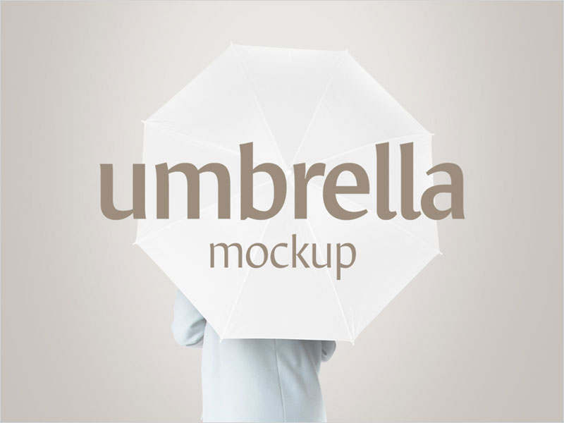 Freebie-Umbrella-Mockup-Set