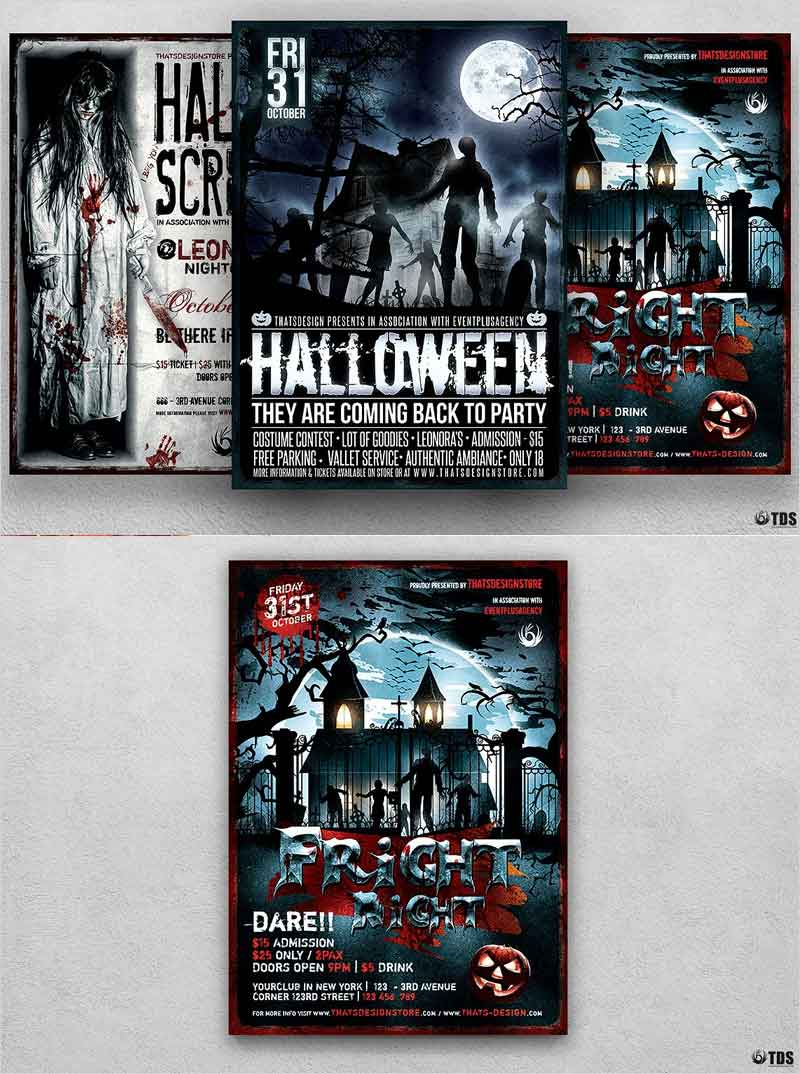 Halloween-Flyer-Bundle-V6