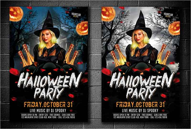 Halloween-Party-Flyer-2-Version