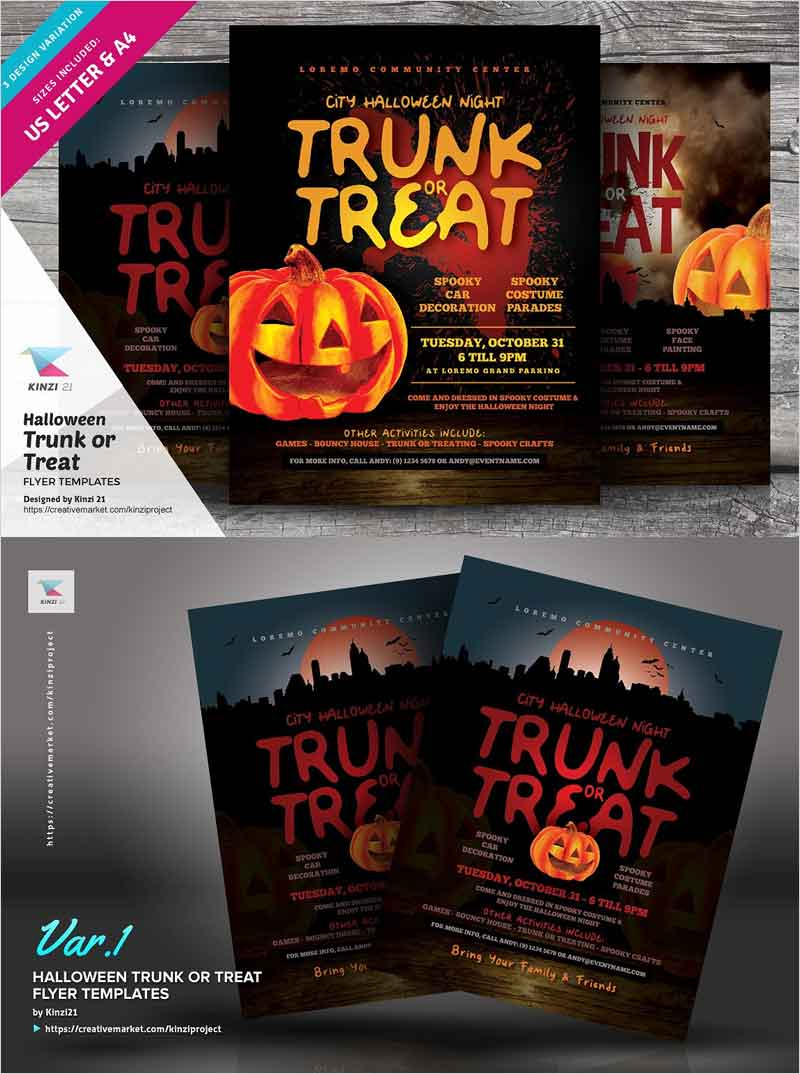 Halloween-Trunk-or-Treat-Flyers