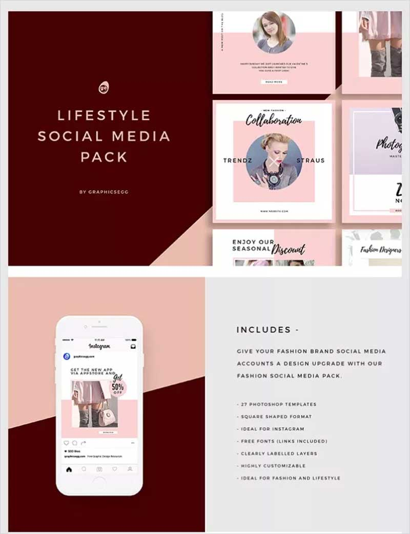 Lifestyle-Social-Media-Instagram-Pack