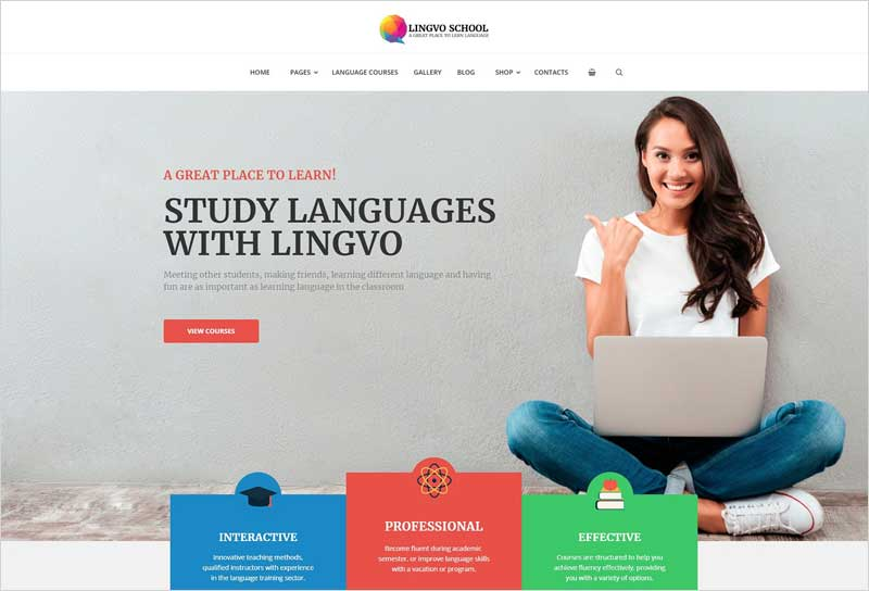 Lingvo-Language-School-Theme