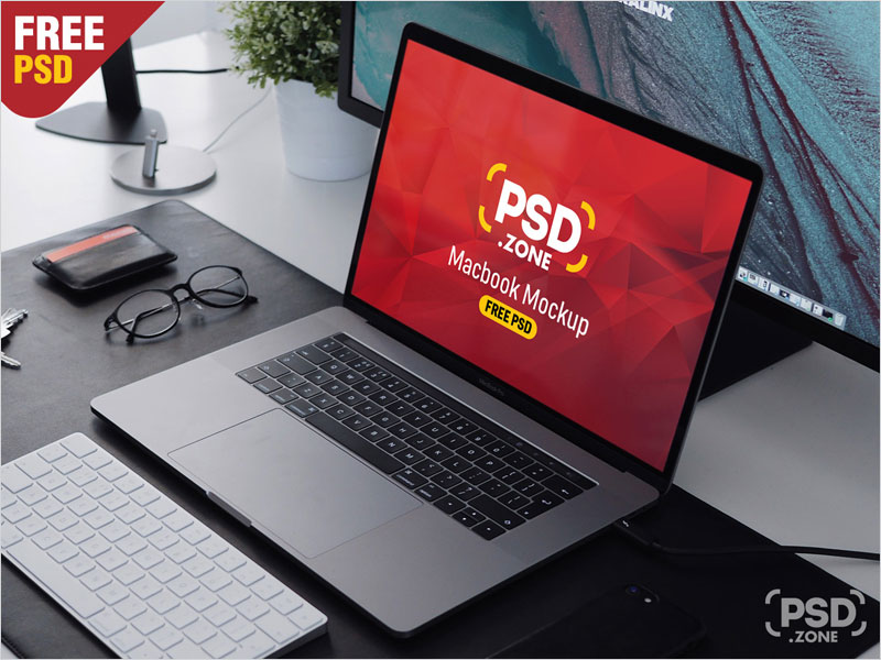 Macbook-Pro-on-Workstation-Mockup-PSD