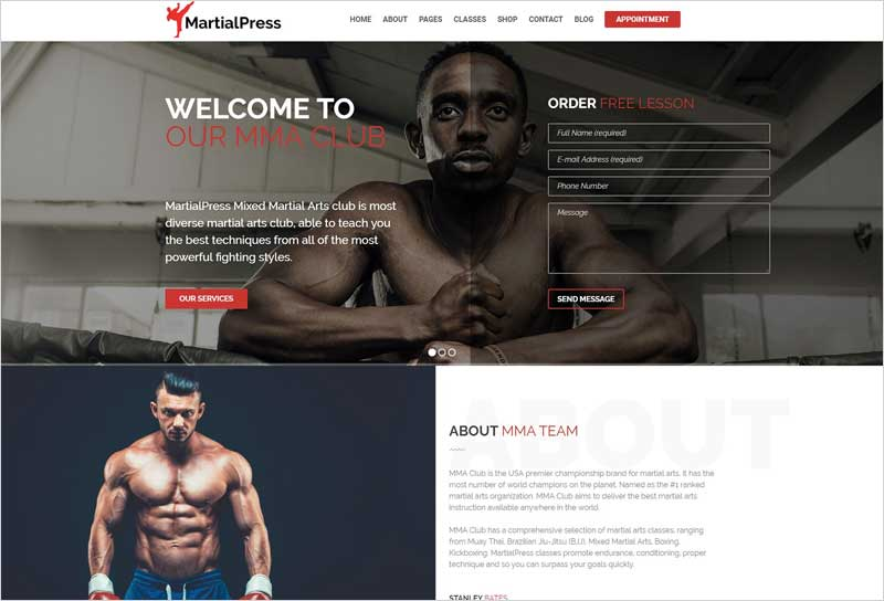 Martial-Arts-School-WordPress-Theme