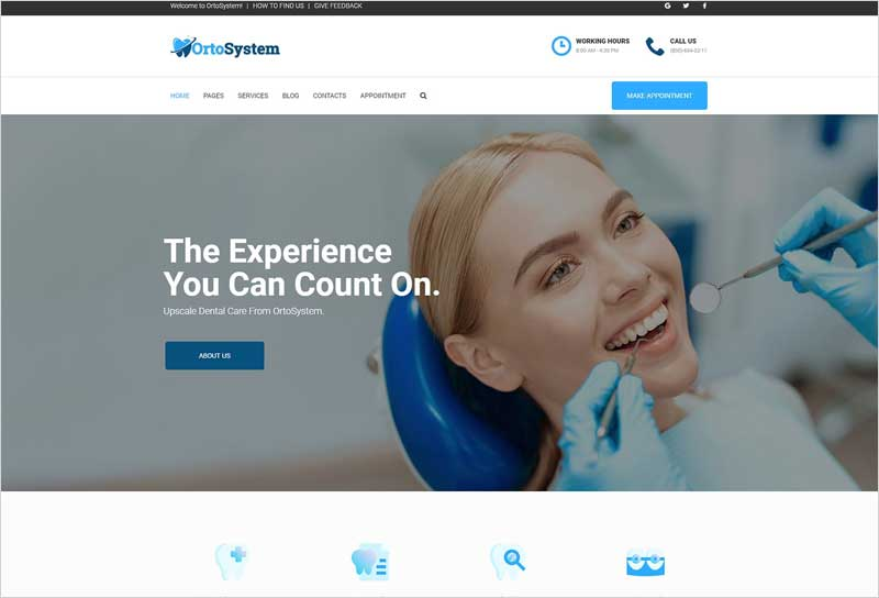OrtoSystem---Dentist-WordPress-Theme